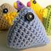 Super Quick Easter Chicks pattern