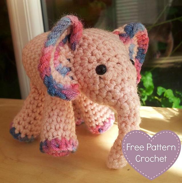 Baby Mobile, Crochet Elephant, Crochet Baby Gift, Handmade baby ...   640x638