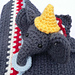 Edward:  Circus Elephant Lovie (CAL) pattern