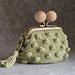 Popcorn kiss lock coin purse pattern