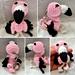 Flossy the Flamingo Keyring pattern