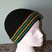 Reversible Herringbone Hat pattern