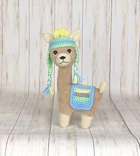 Llama Crochet Patterns – Amigurumi Tips - A More Crafty Life | 320x288