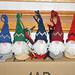 Scandi Gnome Ornaments pattern