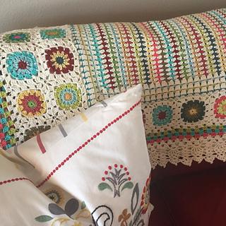 Ravelry: Bette2's Margaret's Living Room afghan