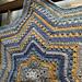 6 Day Star Blanket pattern