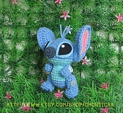 Ravelry: Amigurumi Stitch! from Lilo and Stitch pattern by Sweet N ... | 221x240
