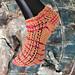 Roze Koek sokken pattern
