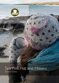Sea Pink Hat and Mitten pattern