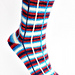 Biscotte Plaid Socks pattern