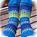 Flørtende føtter pattern