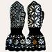 Mansjettvott Sofie Marstad * Marstad Selbu mitten pattern