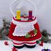 Mrs. Claus Gift Basket pattern