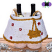 Angel Legs Gift Basket pattern