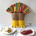 Turkey Legs Gift Basket pattern