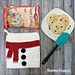 Snowman Belly Pot Holder pattern