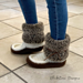 Snowshoe Moccasins - Adult pattern