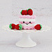 Strawberry Dream Cake pattern