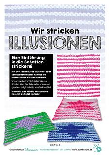 Illusionsstricken Ist Ganz Einfach Stricken 3