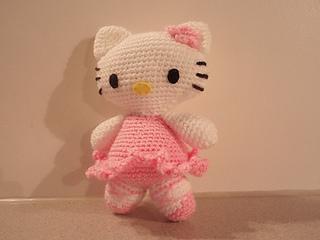 ♥ Amigurumi Hello Kitty Bailarina ♥ ($100) Pedidos/Consultas ... | 240x320