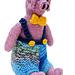 Pierre Pig soft toy pattern
