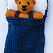 Small bear in sleeping bag pattern