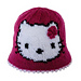 Kitty cat hat for children pattern