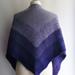 Purple fade pattern