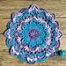 Flower Of The Night Mandala pattern