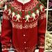 Strikketunets Julekofte | Christmas Jacket pattern