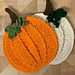 Plump Pumpkin Potholder pattern