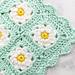 Dainty Daisy Granny Square Blanket pattern