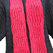 Scarf Basic Lace (Red) pattern