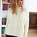 Oversized Aran Pullover pattern