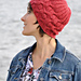 Traveling Cables Beanie pattern