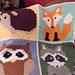 Woodland Animals pattern