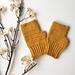 Honeysuckle Herringbone Mittens pattern