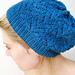 Nordic Lace Hat pattern