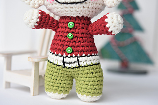 Felix the Frog - free amigurumi pattern for beginners | Flickr | 213x320