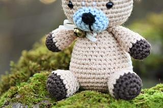 Alpaca teddy bear - free amigurumi pattern by lilleliis | Flickr | 213x320