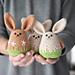 Amigurumi spring bunny pattern