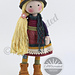 Doll FREYA pattern