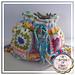 Flower Crochet Square Bag pattern