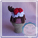 Ice Cream Cone Cup pattern