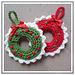 Christmas Wreath Ornament pattern