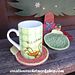 Christmas Ornament Coasters pattern