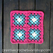 Four Square Granny Square pattern