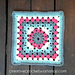 Victorian Flower Granny Square pattern