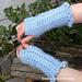 Winter Shells Fingerless Gloves pattern