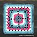 Four Heart Petal Granny Square pattern